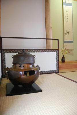 和室は茶室になっています