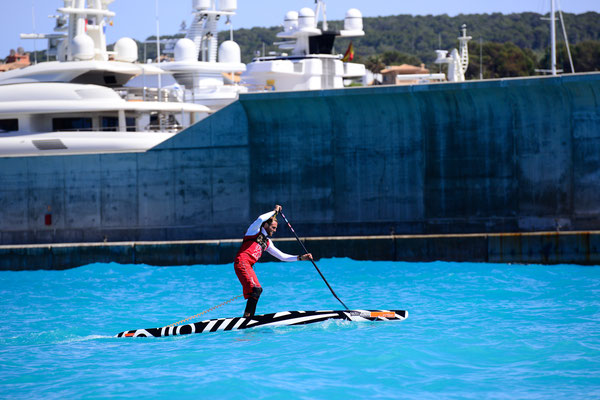 SUP Race in Puerto Adriano