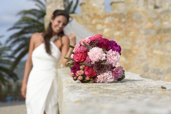 Hochzeit in einer mittelalterlichen Burg