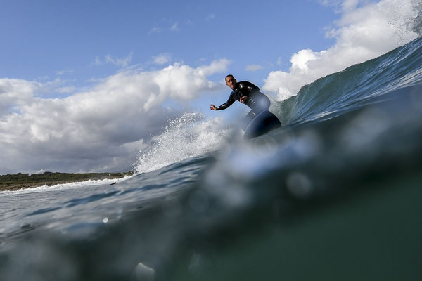 water angle - surf photography