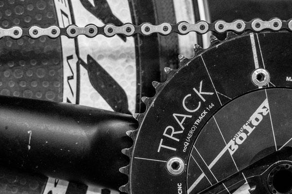 Track racing bike