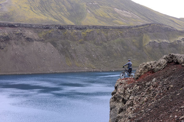 MTB on the Laugavegur trail