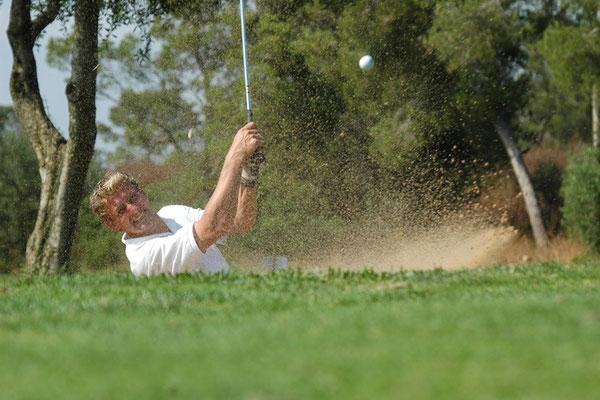 Golf de Son Antem photo shooting