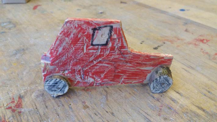 Holzwerkstatt Grundschule Auto