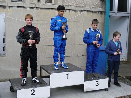 Tjark Schlüer holte sich den zweiten Platz in Klasse 3