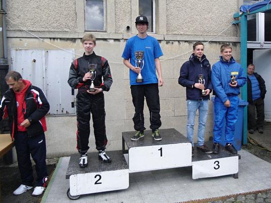 Auch Nico Föge landete auf einem guten zweiten Rang in Klasse 5