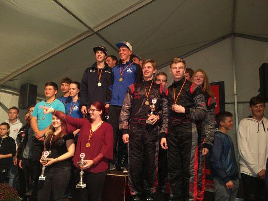 Die Mannschaft MSC Land Hadeln 1 auf Platz 3
