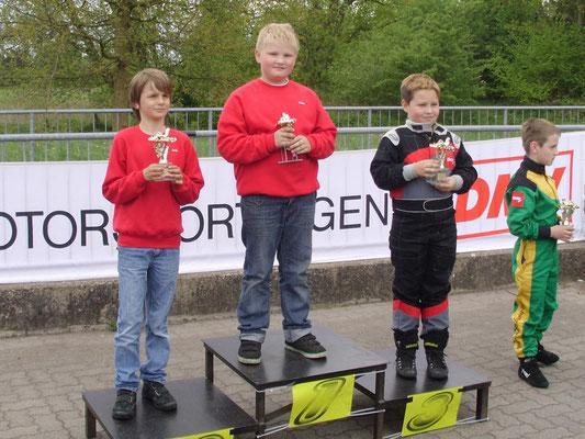 Klasse 1 mit Joel Selenski (2.) und Felix Graefe (Sieger)