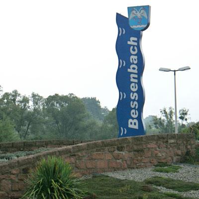 Schild aus Straßbessenbach