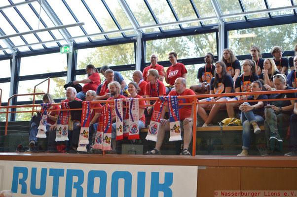 Mitgereiste Fans aus Wasserburg