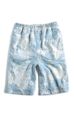 Reversible Hawaiian Shorts (flipside is turquoise)