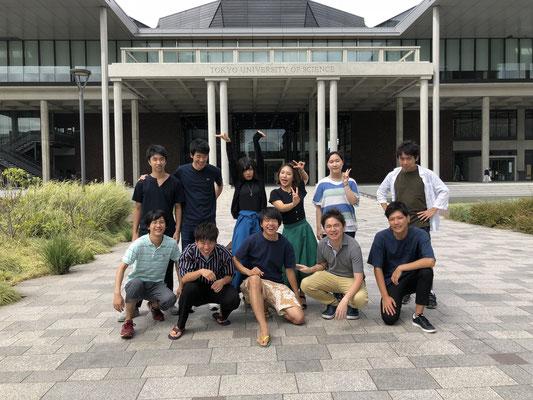 Group photo in September 2018.