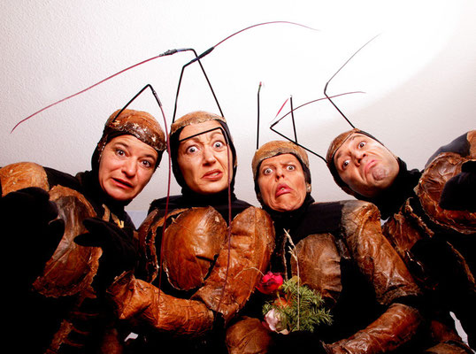 Theater Pikante - Ameisen auf Stadtgang