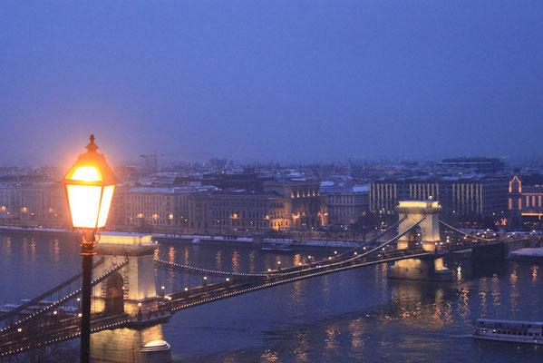 Budapest bei Nacht