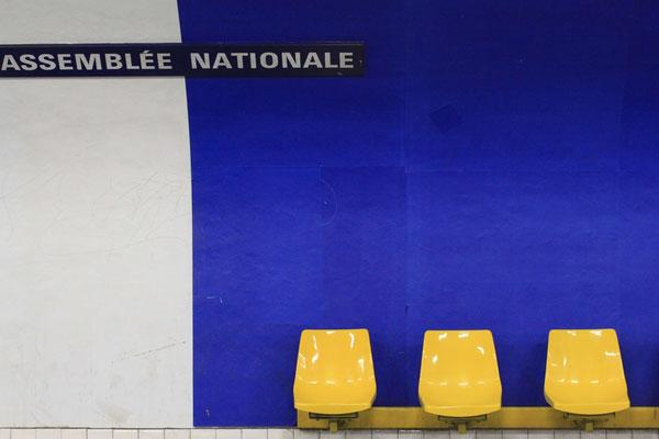 U-Bahn Station Assemblée Nationale