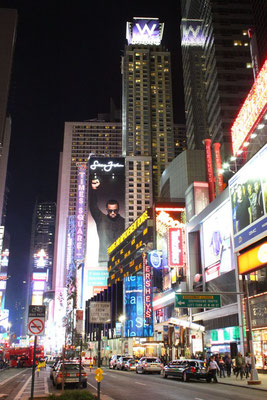 Times Square at nigth