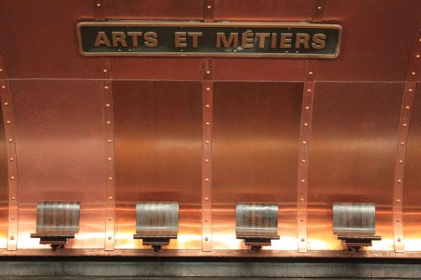 U-Bahn Station Arts et Metiers