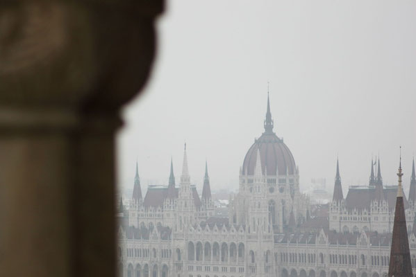 Blick auf das Parlament