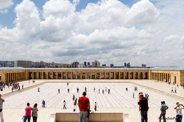 Ankara - Mausoleo di Ataturk
