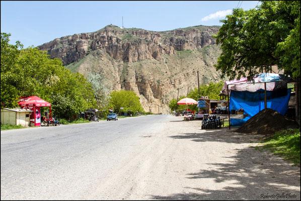 Strada per Noravank - punti ristoro