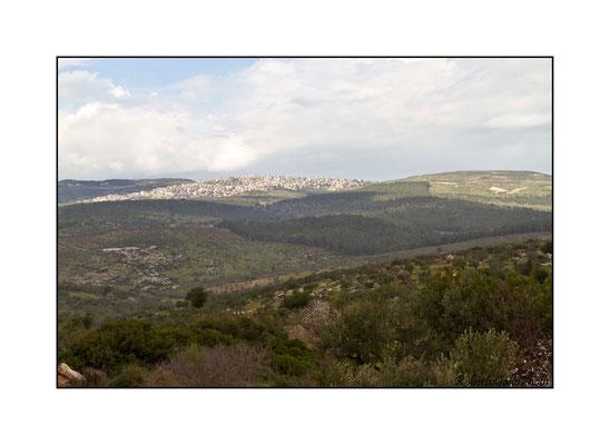 16/02/2012 Vista dal Monte Tabor