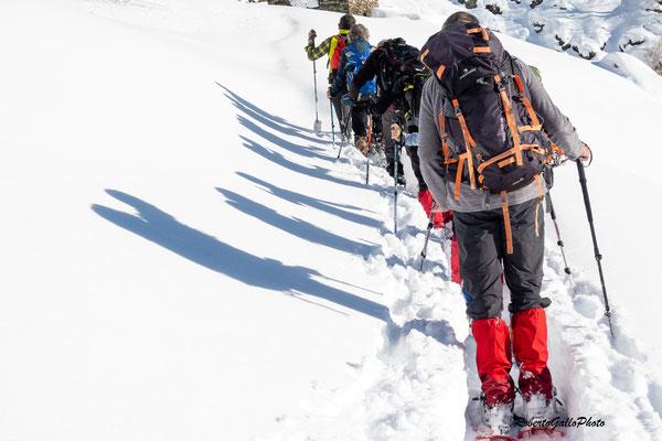 Salendo all'Alpe Corte