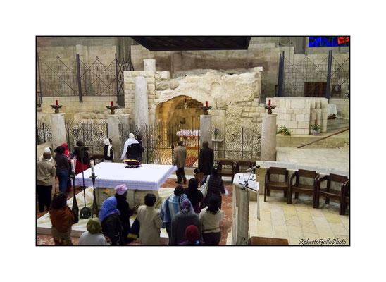 16/02/2012 Nazareth La Basilica dell'Annunciazione