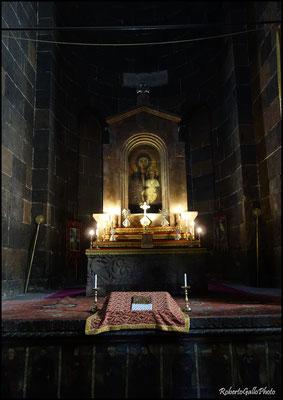 Echmiadzin - particolare della chiesa  Santa Hripsimè