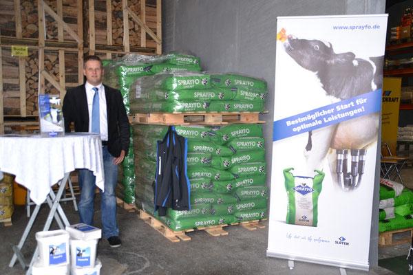 Firma Sloten (Sprayfo Milchaustauscher)