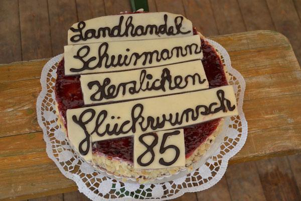 Geschenk von der Bäckerei Gerdes