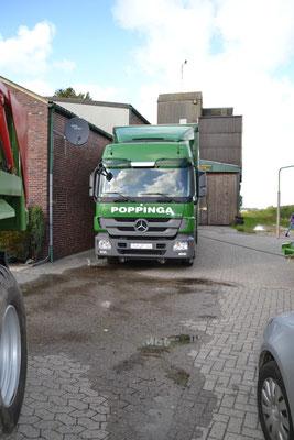 Firma Poppinga, Greetsiel  (Strohhandel)
