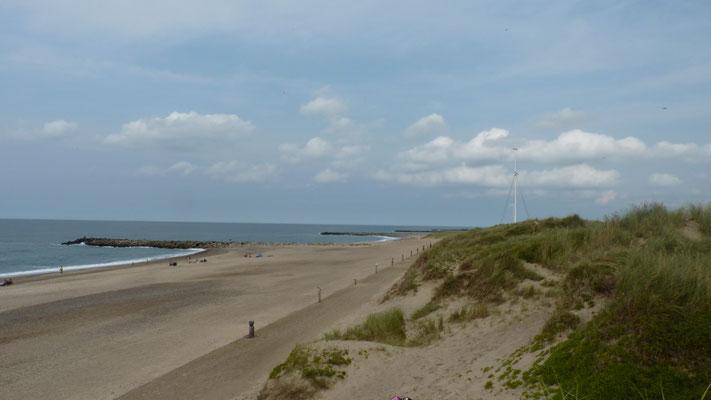 Strand von  Agger