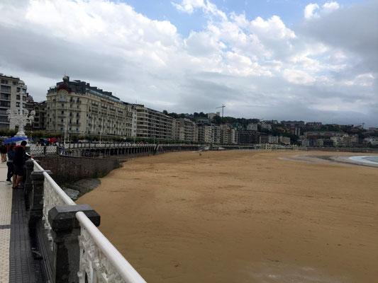 Strand von Donostia-San Sebastián