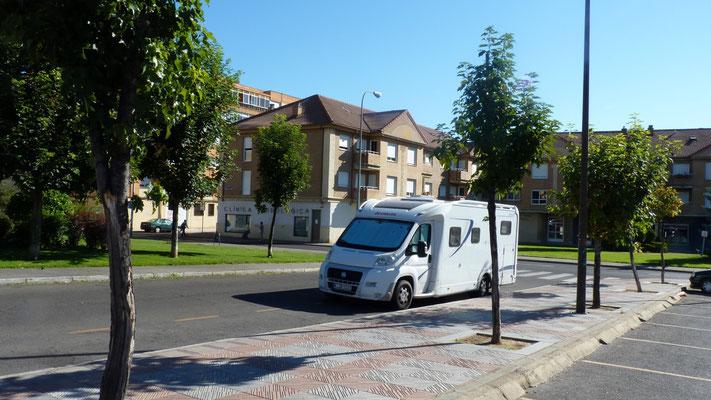 Parkplatz in  León