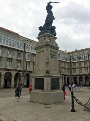 Statue der María Pita