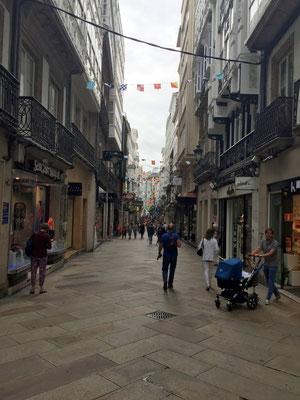 Altstadt von La Coruña