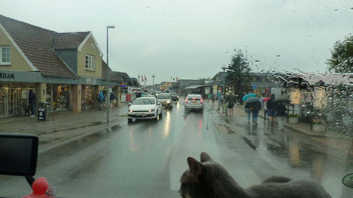 Blavand im Regen