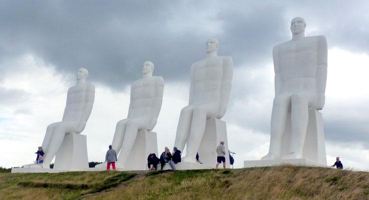 die vier weißen Riesen
