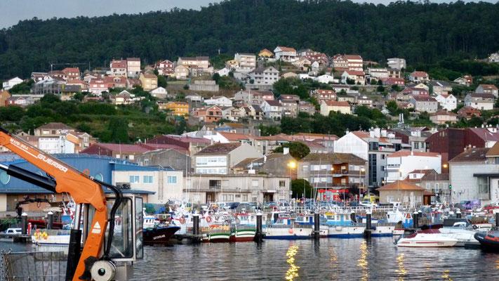Hafen von Bueu