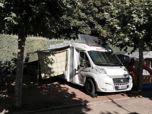 Campingpaltz in Hosptial de Orbigo