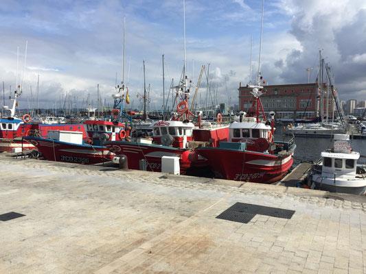 Hafen von La Coruña