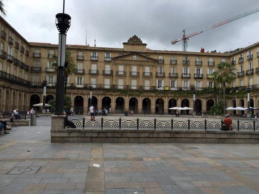 Plaza Nueva Altstadt Bilbao