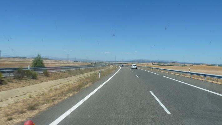 von Leon nach Santander  durch die  Meseta