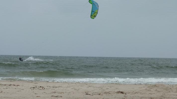 Kitesurfing Vejers Strand