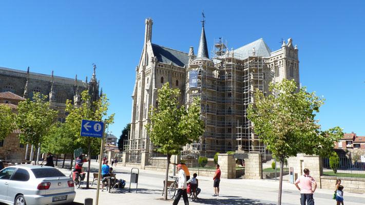 Bischofspalast in Astorga von Gaudi
