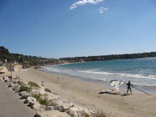Strand von Bandol