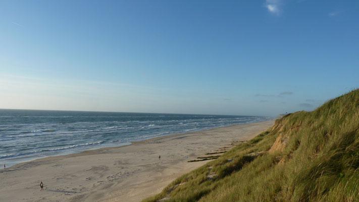 Blick vom Løkken Strand Camping