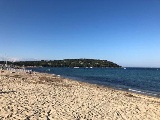 Strand von St. Tropez