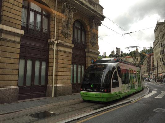 Euskotren Tranbia in Bilbao