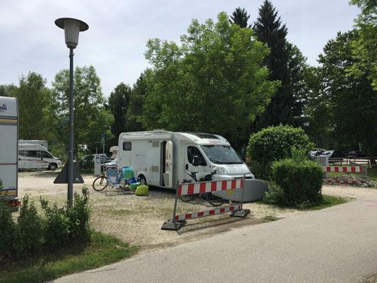 Stellplatz Bernau-Felden